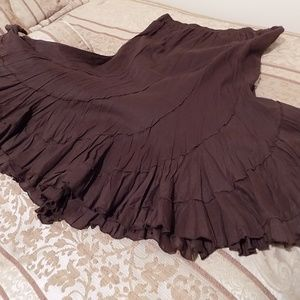 Beautiful  Flowy Skirt Sz L